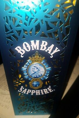 Bombay Sapphire Gin Tin !! Collectible Item