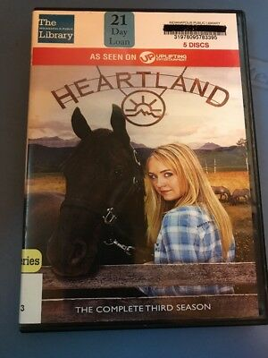 Heartland: The Complete Third Season (DVD, 2013, 5-Disc Set)