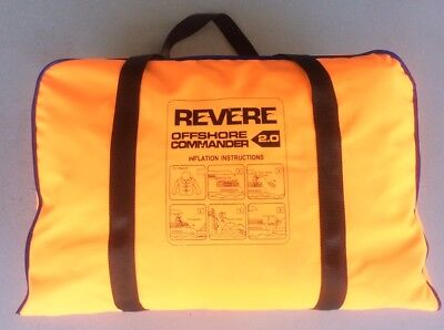 REVERE 4 PERSON offshore life raft