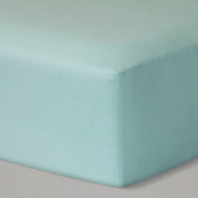 Cloud Island Fitted Crib Sheet Solid Mint Unisex Baby Nursery Bedding