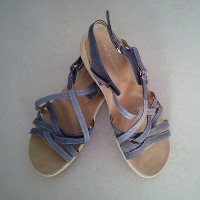 f70290e21e04e0 EASY SPIRIT Women s Sandals Color Blue with Outside Side Straps~Size 8