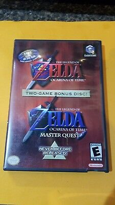 Nintendo GameCube The Legend of Zelda Ocarina of Time and Master Quest