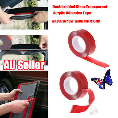 3/10M High strength Double sided Transparent Acrylic Adhesive Tape Car Fix BO