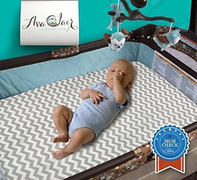 Best All-in-1 Waterproof Pack N' Play: Baby Mattress Pad & Fitted Sheet, Highly