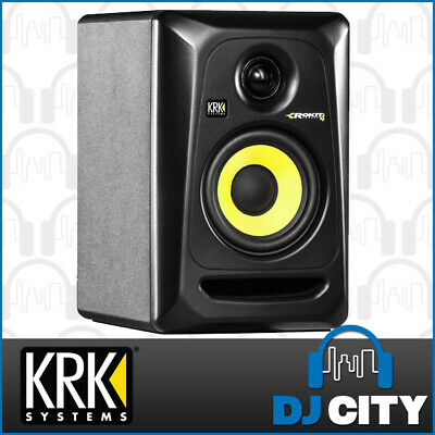 KRK ROKIT 4 inch Studio Active Monitor Speaker Black