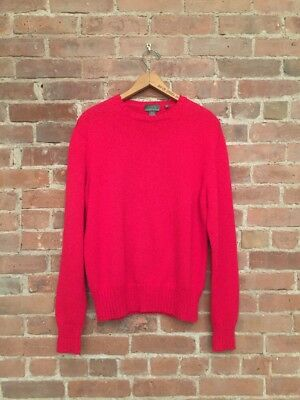 bb243be39488 Avon Celli For Bergdorf Goodman Red 100% Cotton Men's Sweater. SZ-48 Small