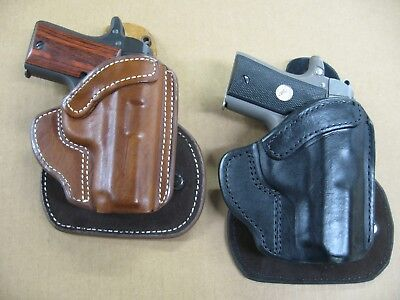 Azula Leather OWB Paddle Concealment Holster CCW For.. Select Color & Gun -  A