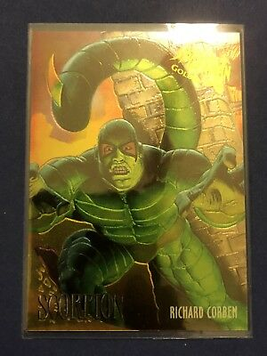 1995 Fleer Ultra Marvel Spider-Man Scorpion Masterpieces Limited Edition Card #6