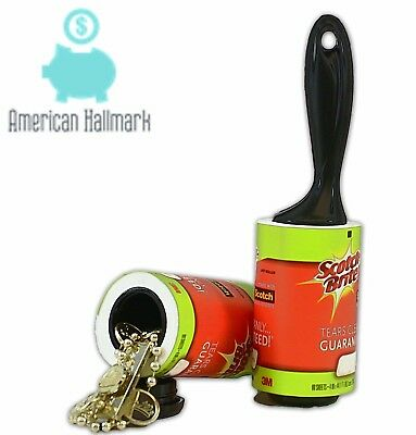 Container Lint Roller Hidden Safe Stash Jewelry Home Secret Diversion Security