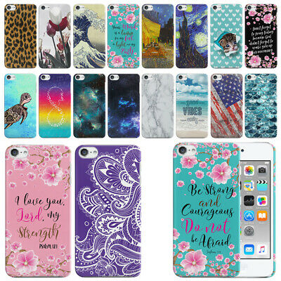 For Apple iPod Touch 6 (6th Generation) Ultra Thin Hard Back Case Cover