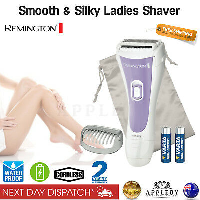 Remington Cordless Shaver Lady Womens Legs Body Face Hair Remover Razor Trimmer