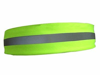Reflective Tape for Clothing Lime Green Gray 10 Feetx2 Inch Roll