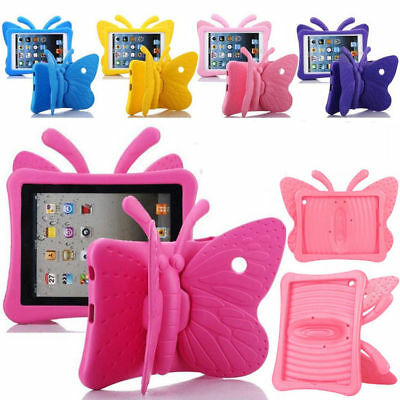 "Butterfly Kids Stand Shockproof Cover Case For New iPad 9.7"" 2017 2018 5th/6th"