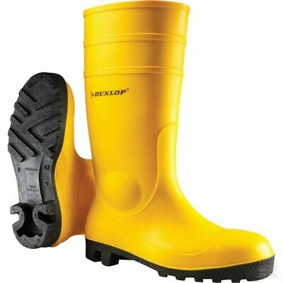 Dunlop 142YP Protomastor Mens Safety Wellington Boots Steel Toe Cap S5 SRA Welly