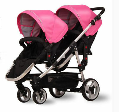 NEW Baby Stroller Double Stroller Twin Pram Lightweight Buggy