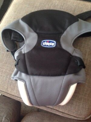 Original Chicco Marsupio Go Baby Carrier Black Used Twice Absolutely Spotless