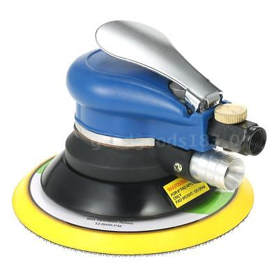 "Multifunction 6"" 10000RPM Pneumatic Palm Random Orbital Sander Polisher Air F3W8"