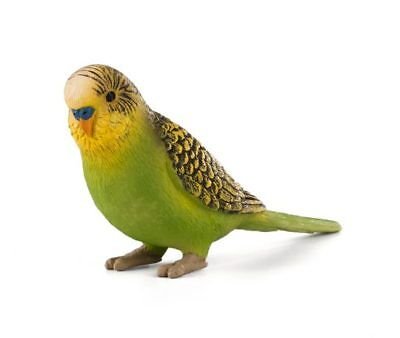 MOJO Green Parakeet Budgie Bird Figure Collectible Mini Figurine