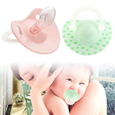 Infant Baby Supply Soft Silicone Orthodontic Nuk Pacifier Nipple Sleep Soother T