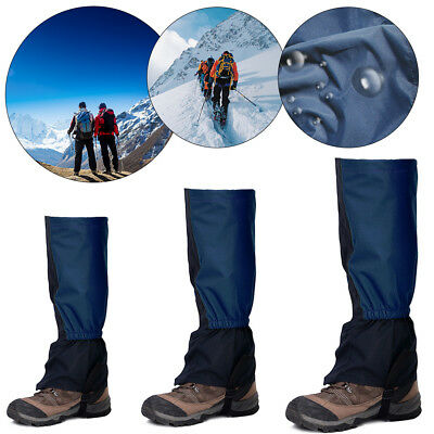 Waterproof Outdoor Climbing Hiking Snow Ski Shoes Leg Boot Gaiters Legging Cover