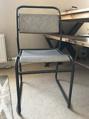 Vintage Industrial Office Chair Kitchen Dining Iccationsl