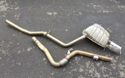 Mercedes AMG C Class 250 Cdi W204 Diesel Exhaust Centre Pipe Back Box Silencers