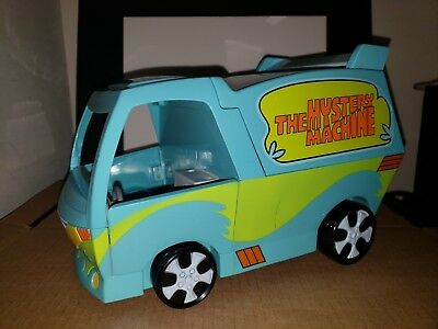 """Scooby Doo! Mystery Machine 10"""" Vehicle Action Figure Play Set w Figs 2007"""