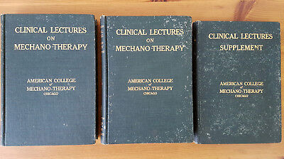American College of Mechano-Therapy Clinical lectures Vol.1, Vol.2 & Supplement