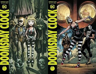 Doomsday Clock #6 (of 12) A&B Cover variant Set SHIPS NOW Watchmen FREE SHIPPING
