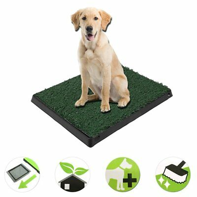 Large Dog Toilet Mat Indoor Potty Puppy Trainer Grass Litter Tray With Drawer S