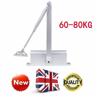 SY 60-80KG Heavy Duty FIRE RATED Overhead Door Closer Opener Automatic Closure Y
