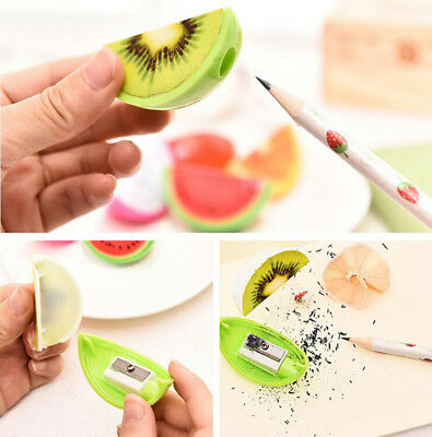 Fruit Shape Pencil Makeup Sharpener Kid Novelty School Supplies Fun Stationary