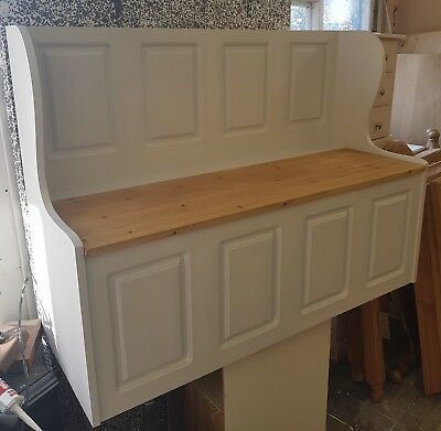 Brand New Solid Pine 4Ft Monks Benches Farrow And Ball Colour Choice