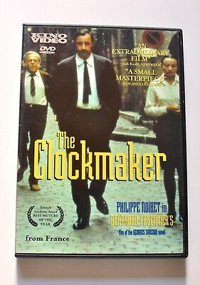 The Clockmaker RARE Kino French Crime Drama Cult Film Arthouse World Cinema