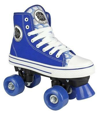 Pop Squad Midtown Azure Blue Kids Roller Skates