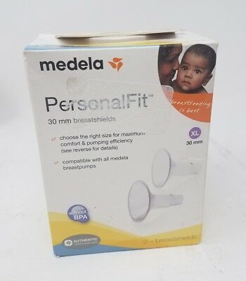 Medela PersonalFit Extra Large XL 30 mm Breast Shields - Open Box