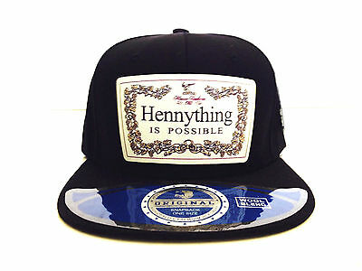 New Henny HENNYTHING IS POSSIBLE URBAN  Hat HIP HOP Baseball Cap STYLISH NEW