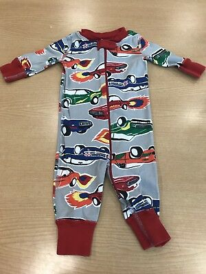 78ae03375e16 HANNA ANDERSSON SIZE 70 (9-18 Months) Sleeper Pajamas Boy lot of 5 ...