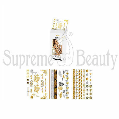 Pupa Jewel Body Tattoos Taturaggi Corpo Gioiello Temporanei Wild Flower