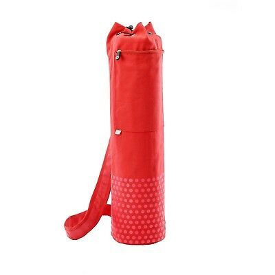 (Red) - STOTT PILATES Yoga Canvas Mat Bag. Delivery is Free