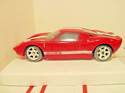 Nikko Ford Gt Rc Car Red For Parts Or Repair Untested No Remote Mhz