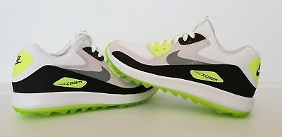9e4e487eeb81bf Nike Air Zoom 90 IT Spikeless Golf Shoes White Grey Mens Size 10 ( 844569-