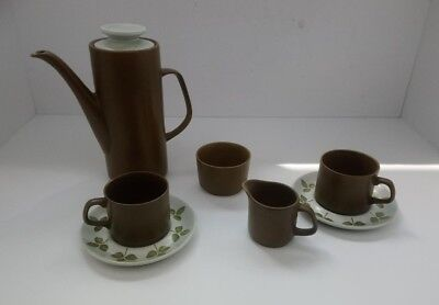 Vintage Retro J & G Meakin Tea Coffee Set For 2 - 7 Piece Set Tea Pot Cups Sugar