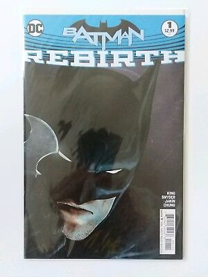 Batman Rebirth #1 1St Print Dc Comics