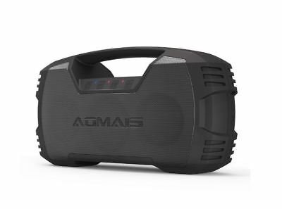 Aomais Go Bluetooth Bass Booming Speakers 30 Hours Playtime 8800mAh Powerbank AU