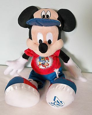 Walt Disney World Theme Park Exclusive 2014 Mickey Mouse Plush Ears Hat