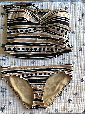 Pea In The Pod Swimsuit Maternity Size Medium 2 Piece