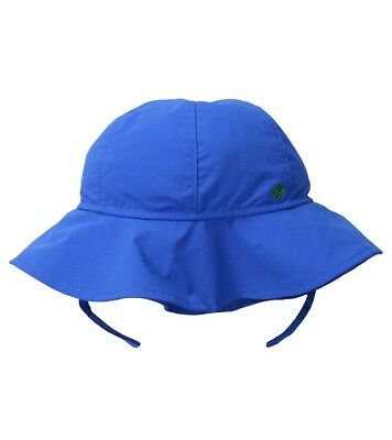 abf19ae48a4 NEW Columbia infant boy s Packable Booney beach Hat w  chin strap Whale Blue