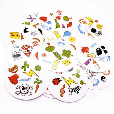 Kids Card Game High Quality Paper Dobble It For Family Party Game Cards Game Fun