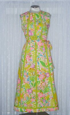 Vintage Lanz Lilly Print ? Two Piece Skirt & Top Set Mad Men 60's 70's Floral